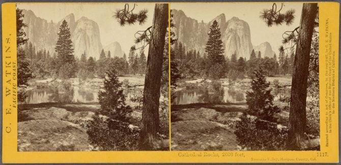 Cathedral_Rocks,_2600_feet,_Yosemite_Valley,_Mariposa_County,_Cal,_by_Watkins,_Carleton_E.,_1829-1916