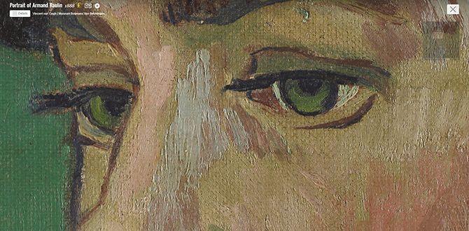 Van Gogh's Portrait of Armand Roulin