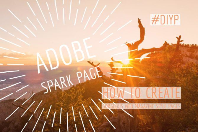 Adobe Spark Page Review
