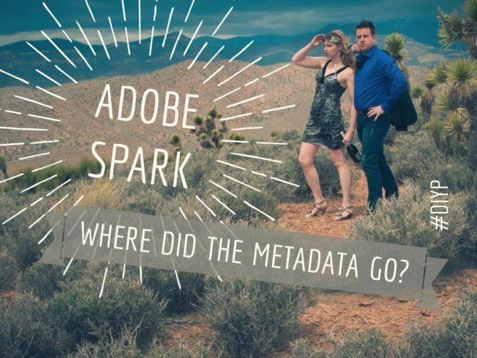 Adobe Spark Metadata