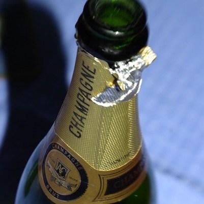 Champagne square