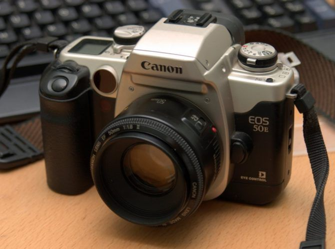 The EOS 50 – Photo by Cramerd on Wikipedia