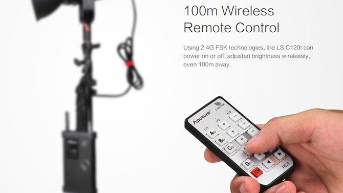 aputure_cob_120t_wireless_remote