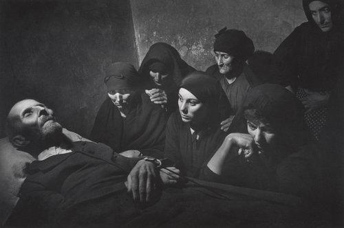 """Spanish Wake"" – Deleitosa, Spain 1951, Photo by W Eugene Smith"