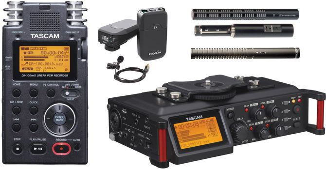tascams_microphones