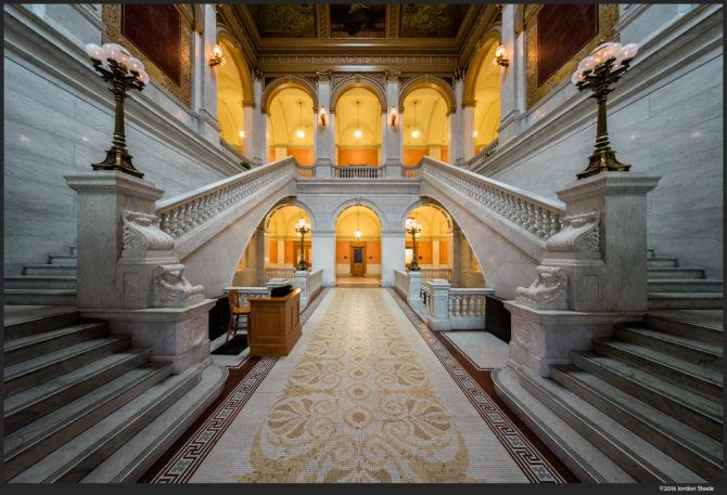 Statehouse Foyer – Sony A7 II with Voigtländer 10mm f/5.6 @ f/8