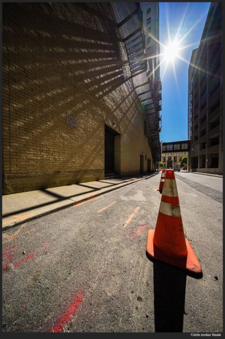 Alley Cone – Sony A7 II with Voigtländer 10mm f/5.6 @ f/8