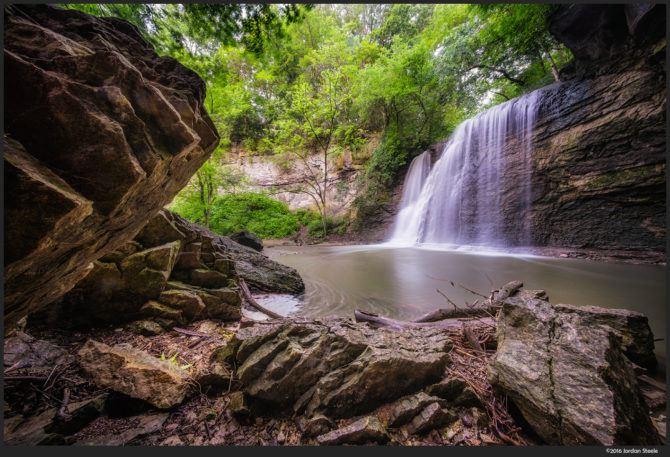 Hayden Run Falls – Sony A7 II with Voigtländer 10mm f/5.6 @ f/16