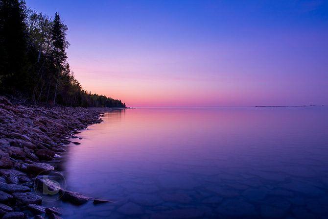 blue hour photography after sunset