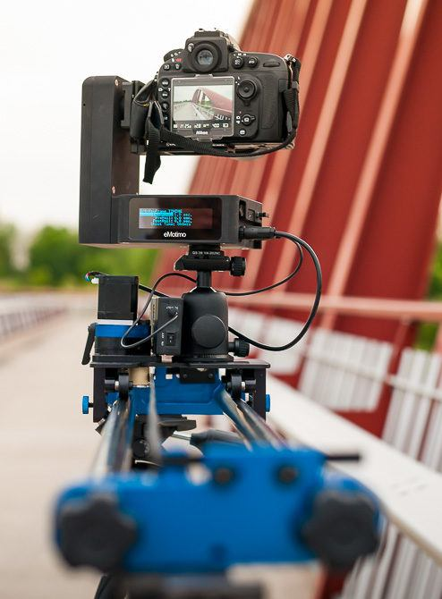 dynamic perception stage one dolly with emotimo spectrum st4