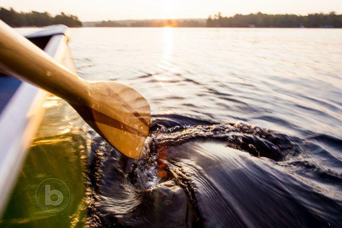 j stroke canoe paddle swirl