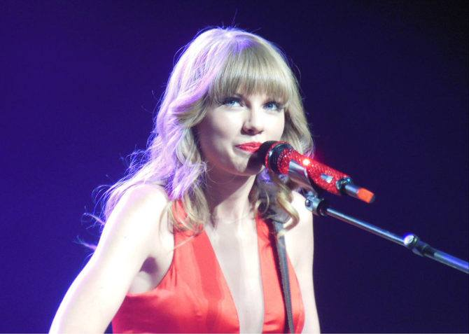 Taylor Swift Supporting Copyright Holders