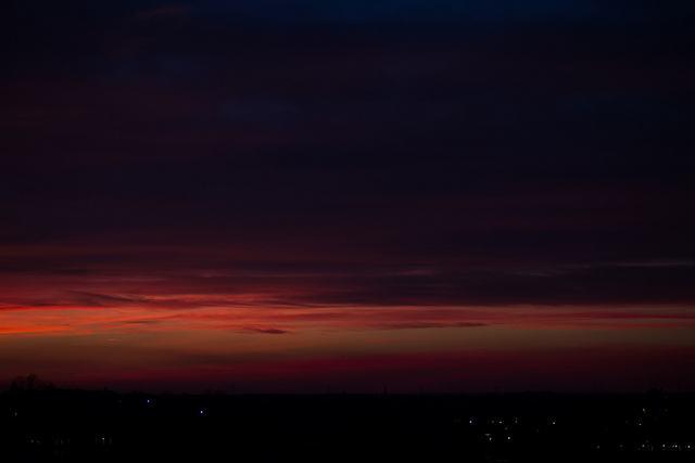 Heath sunset