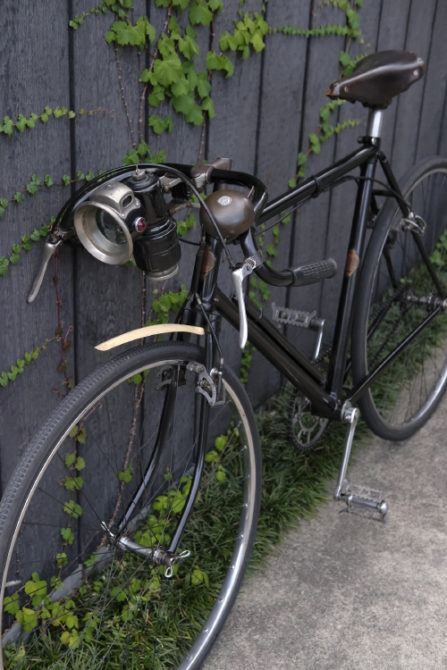 Jun's vintage 1934 Granby bicycle. © Jun Sato. Image used with permission.