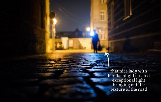 Flashlight Lady