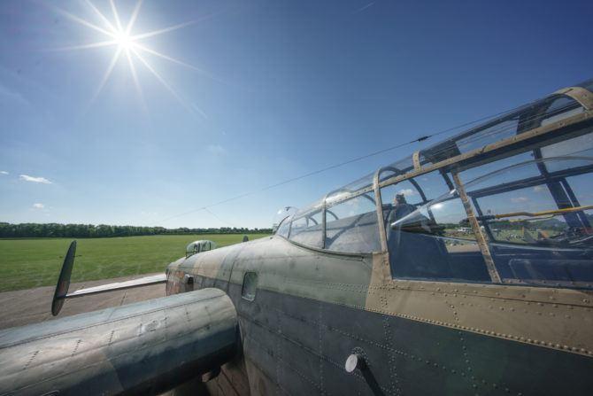 original plane photograph