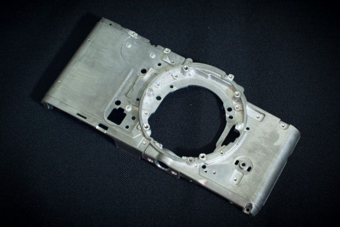 Magnesium alloy body panel of the PEN-F - ©2016 Senzo