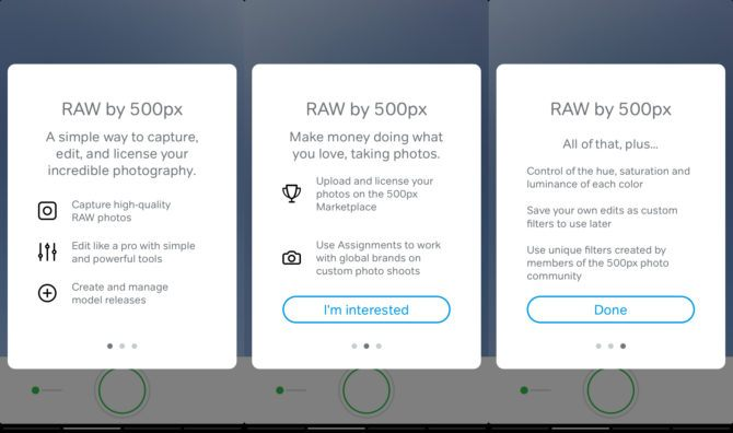 500px's new RAW app for iOS lets you shoot, edit and sell photos right from your iPhone