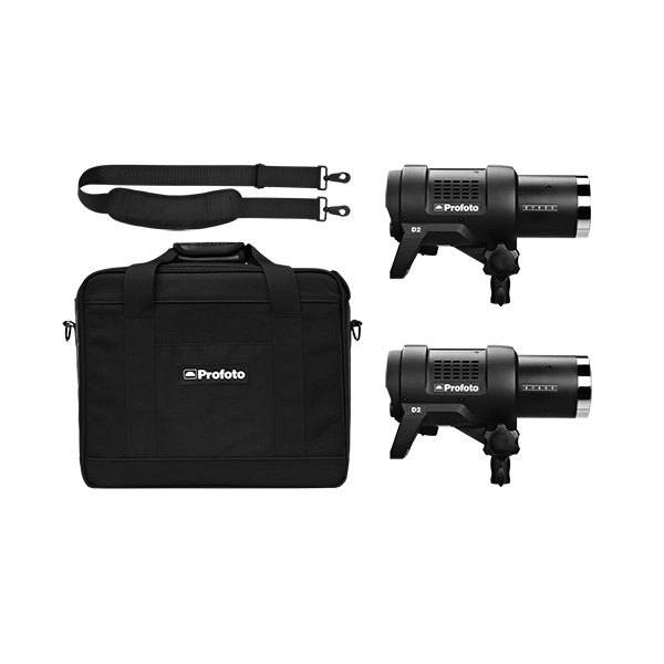 The Profoto is also available in a Two-Light Kit