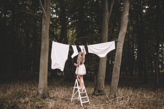 Hang me out to dry - Self portrait