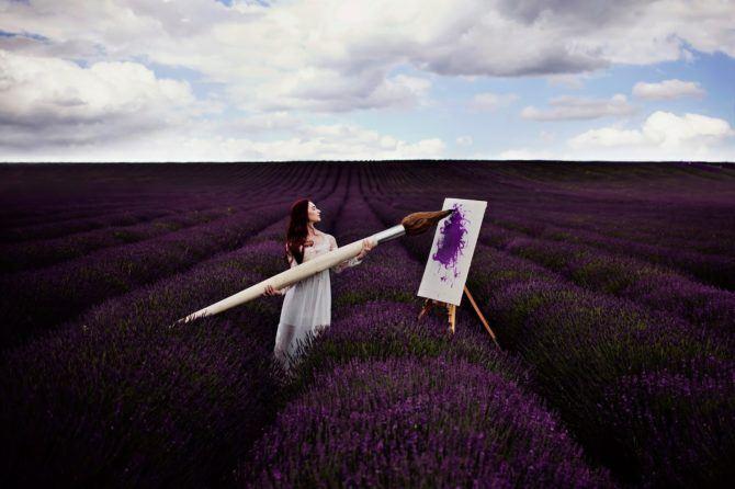 Paint me a picture - Bernadette Lemon