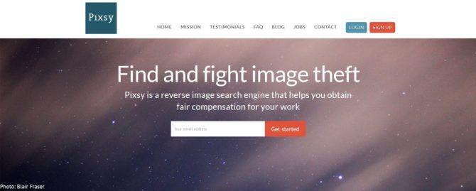 pixsy-website