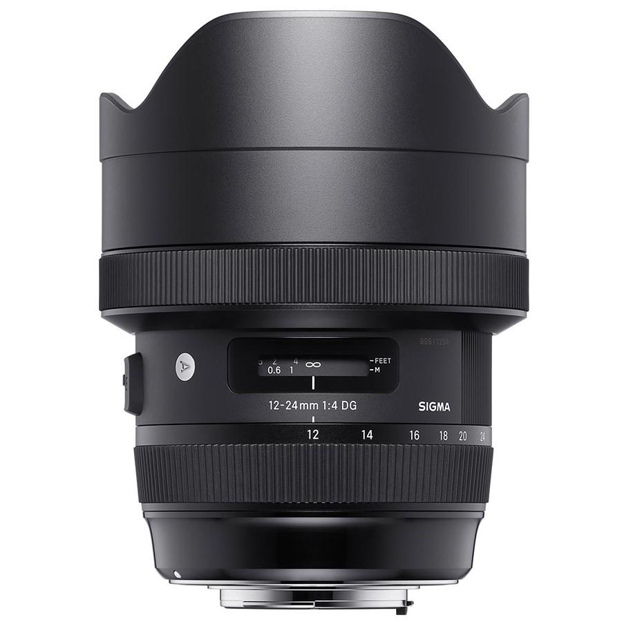 The Sigma 12-24mm F/4 DG HSM Art lens.