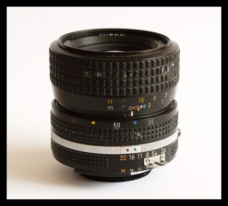 Yep, mine is pretty knocked about, so that just shows you how tough this little Nikkor is!