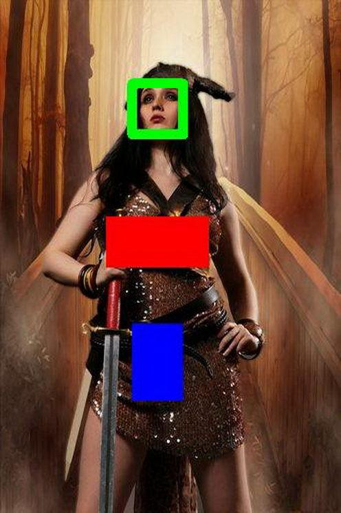 Google tags: Clothing, woman warrior, costume,