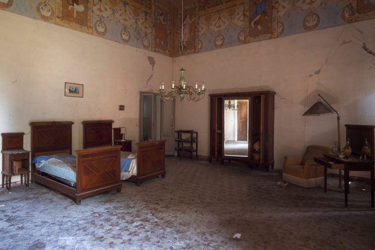 Lovely Italian bedroom.