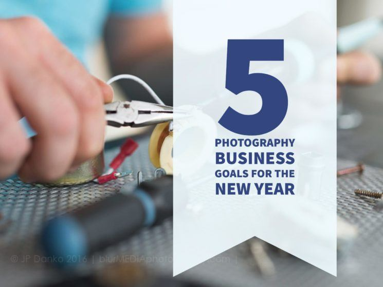 5 photography business goals for the new year