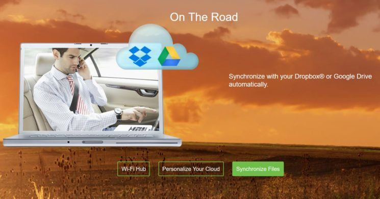 Seagate Wireless Plus - Cloud Syncronization