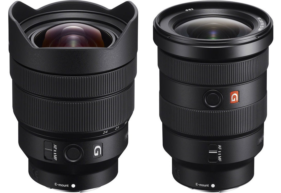 Sony Announces Two New Wide Angle Zoom Lenses Fe 16 35mm