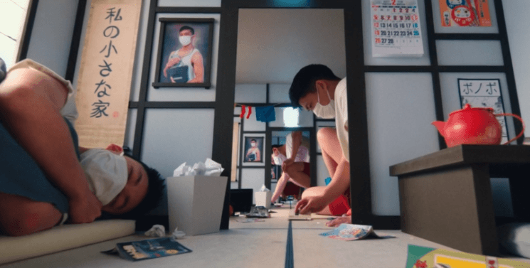 This brilliant music video has no VFX, only a tiny camera on a huge set