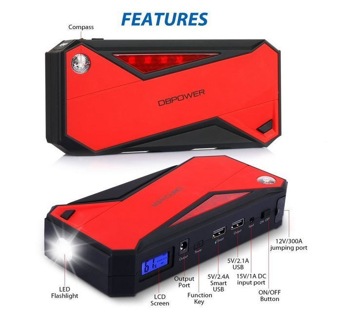 Portable Drone Battery Charger