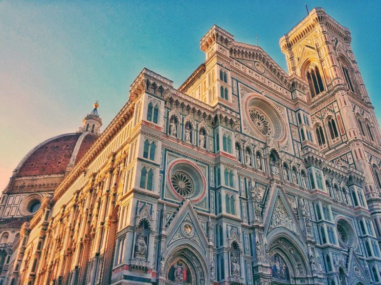 Duomo di Firenze - just a mobile phone snapshot at sunrise - the right place at the right time.