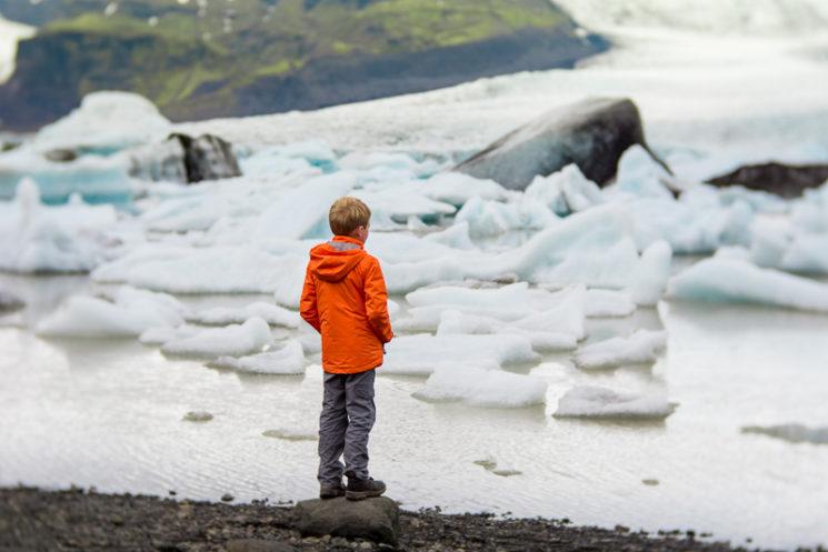 Lensbaby Velvet 85mm Review Nikon Mount - Glacier Lagoon Iceland