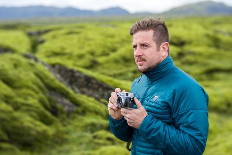 Lensbaby Velvet 85mm Review Nikon Mount - Lava Flow Iceland