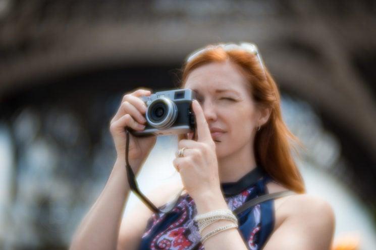 Lensbaby Velvet 85mm Review Nikon Mount - Eiffel Tower Paris