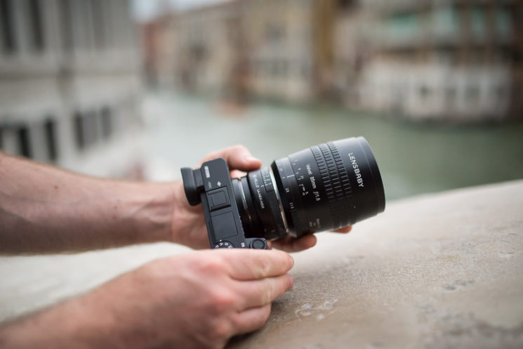 Lensbaby Velvet 85mm Review Nikon Mount with Nikon F to Sony E Adapter