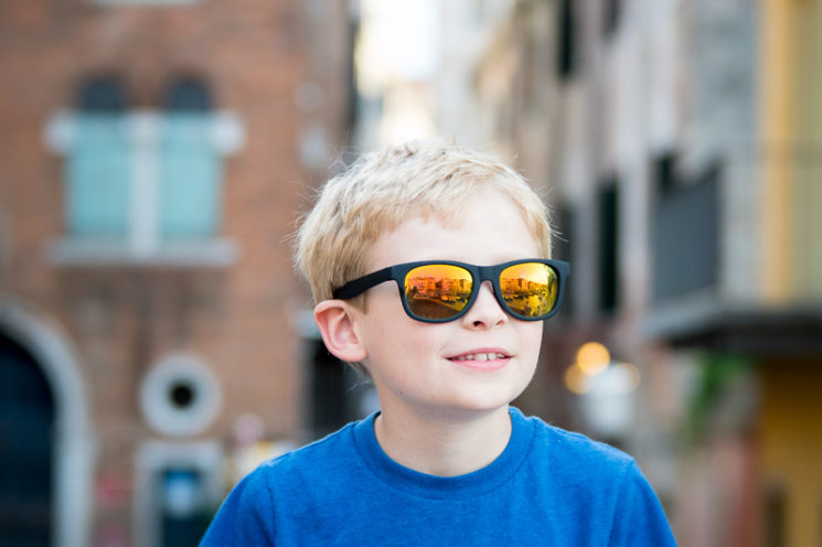 Lensbaby Velvet 85mm Review Nikon Mount - Boy in Venice