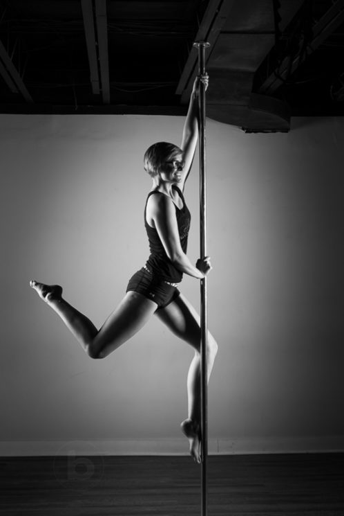 Allure Fitness pole dancing fitness instructors.