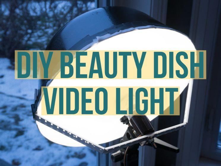 DIY Beauty Light Video Light