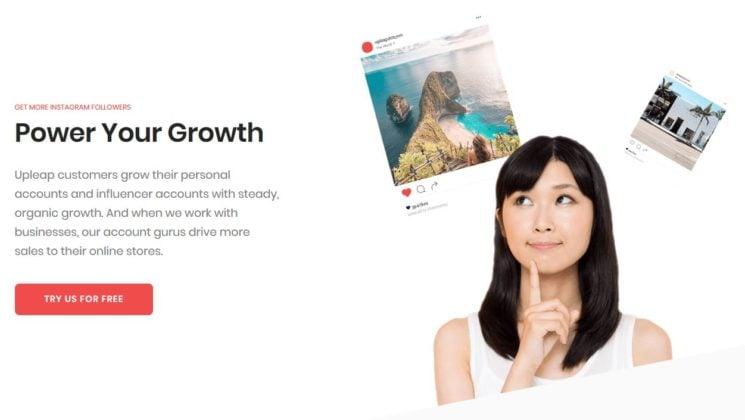 Upleap Review Instagram Follower Growth Service