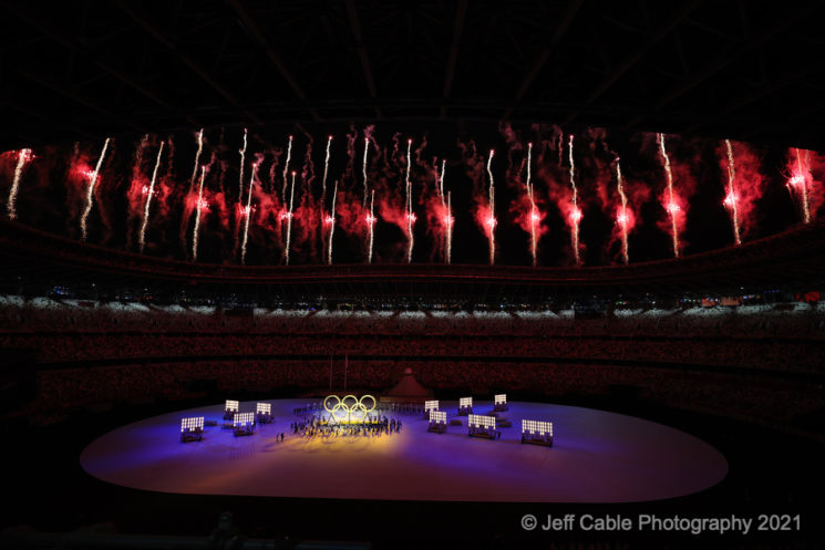 Tokyo Olympics 2020 Opening Ceremony with the Canon EOS R3